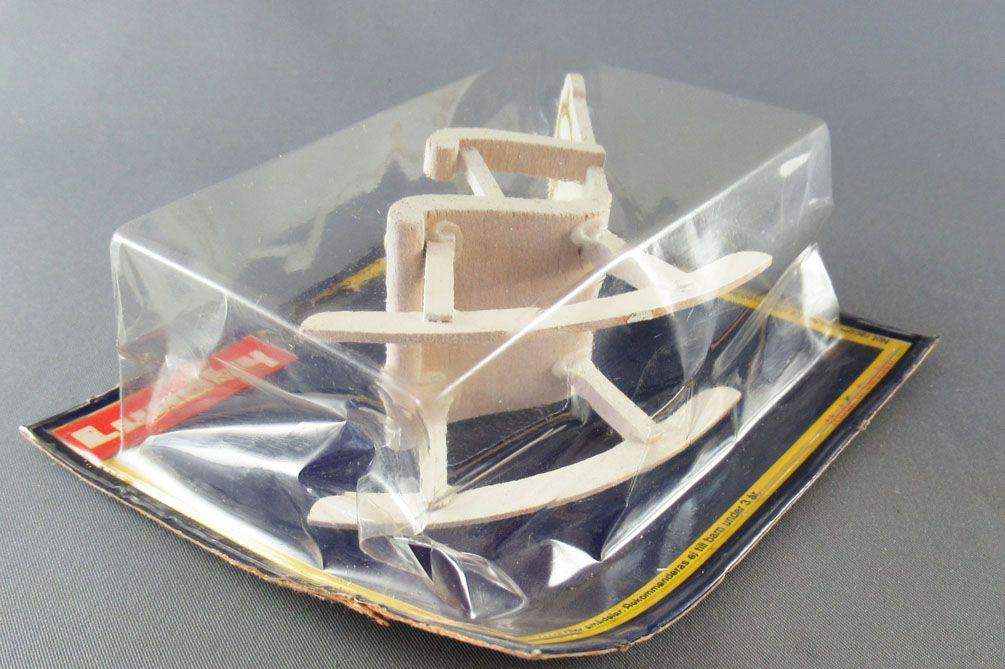Lundby of Sweden Réf 4327 - Rocking Chair Blanc Maison de Poupées Neuf Blister