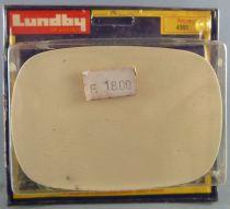 Lundby of Sweden Réf 4361 - Table Blanche Salle à Manger Pieds Droits Maison de Poupées Neuf Blister