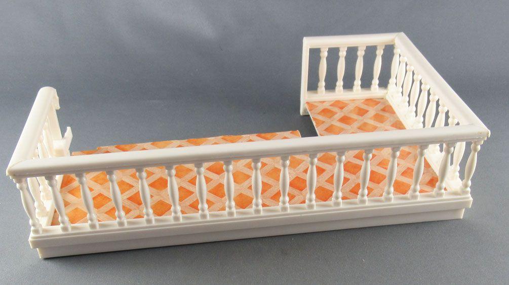 Lundby of Sweden Réf 6059 - Balcon Démontable pour Maison de Poupées