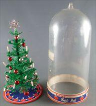 Lundby of Sweden Réf 8981 - Sapin de Noel Sous Cloche Plastique Amovible Etat Neuf