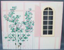 Lundby Petra Réf 61508 - Maison des Jeux - Pièce Détachée Carton Décor Mur Extérieur Salle de Bain Poupées 29 cm