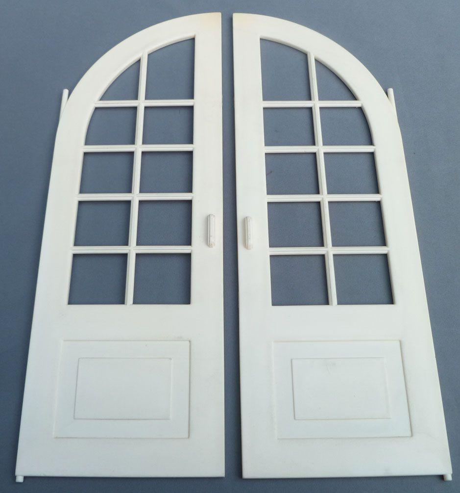Lundby Petra Réf 61508 - Maison des Jeux - Pièce Détachée Porte Fenêtre 2 Battants Chambre Balcon Poupées 29 cm
