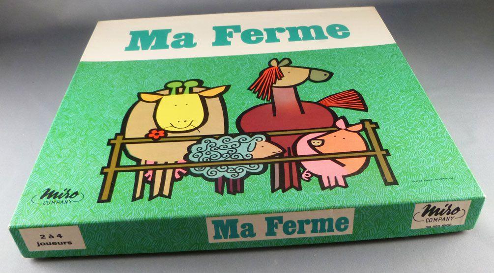 Ma Ferme - Board Game - Miro Company 1968