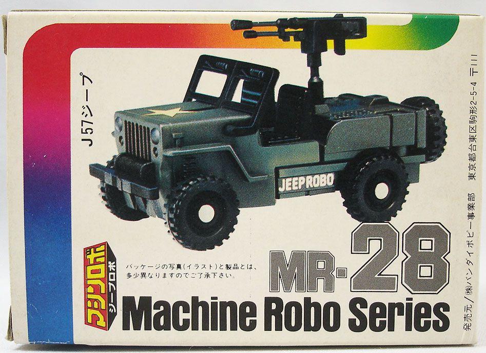 Machine Robo - MR-28 Jeep Robo