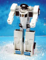 Machine Robo Gobot (loose) - Crasher (white)
