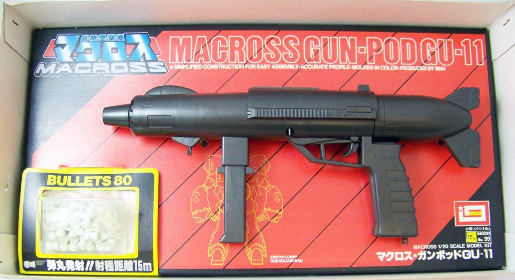Macross Gun-Pod GU-11 1-20ème - Imai Model Kit (occasion en boite) 04