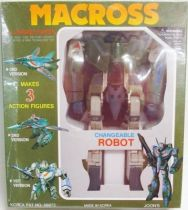 Macross VF-1J Variable fighter 1/55e Green Mint