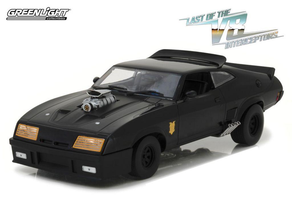 Mad Max - 1:18 scale V8 Interceptor (1973 Ford Falcon XB) - Greenlight Collectibles