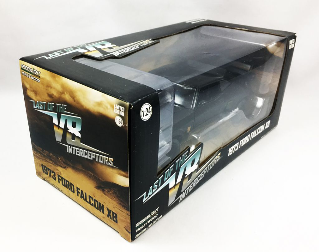 Mad Max - 1:24 scale V8 Interceptor (1973 Ford Falcon XB) - Greenlight Collectibles
