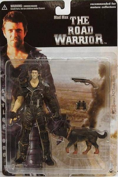 Mad Max - N2Toys - Max with dog (mint on card)