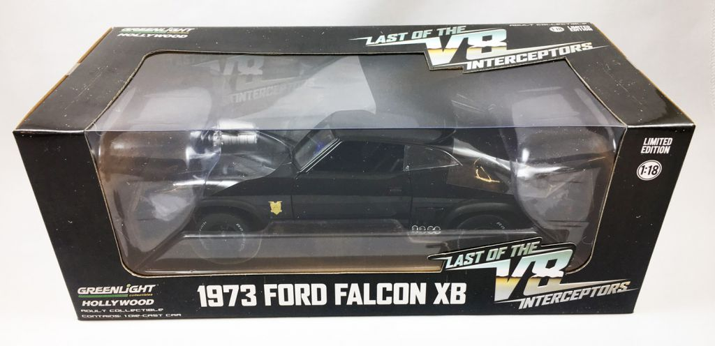 Mad Max - V8 Interceptor 1/18ème (1973 Ford Falcon XB) - Greenlight Collectibles