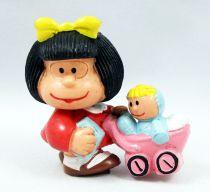 Mafalda - M+B Maia Borges - Mafalda avec landeau