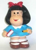 Mafalda schoolgirl Maia + Borges Squeeze toy
