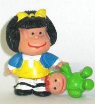 Mafalda with doll (blue & yellow) Comics Spain pvc figure