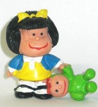 Mafalda with doll (blue & yellow) Comics Spain pvc figure