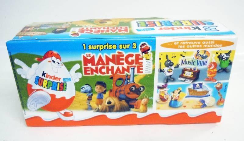 Magic Roundabout - Kinder Surprise (Ferrero) - Set of 9 Movie Figures