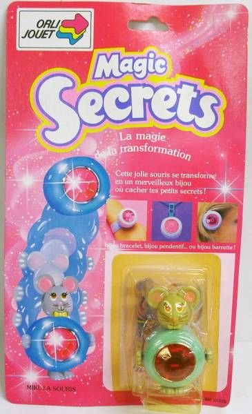 Magic Secrets - Miki la souris - Galoob Orli Jouet