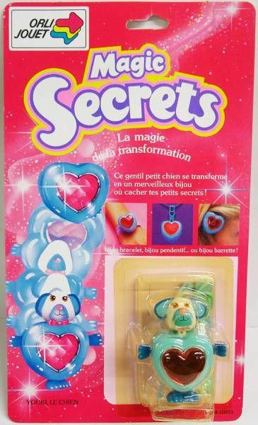 Magic Secrets - Youki le chien - Galoob Orli Jouet