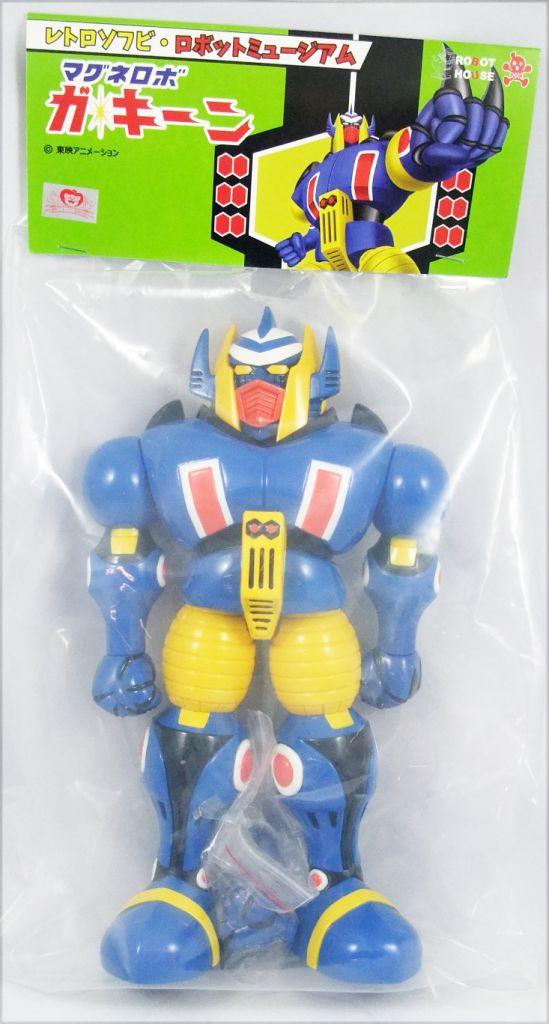 "Magne Robo Gakeen - 12\'\' Vinyl figure \""Retro Soft Robot Museum\"" - Robot House"