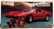 Magnum\'s Ferrari 308GTS Revell model kit