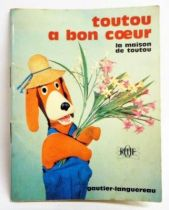 Maison de Toutou - Merchandising - Mini-Comics Gautier-Languereau Editions ORTF 1970 Toutou has a good heart