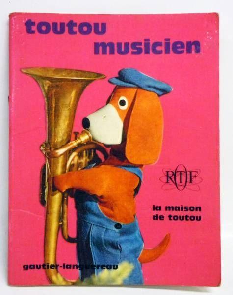 Maison de Toutou - Merchandising - Mini-Comics Gautier-Languereau Editions ORTF 1970 Toutou musician