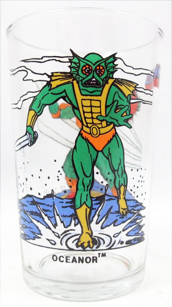 Maîtres de l\'univers - Verre Amora - Océanor / Maitre d\'Armes