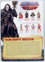 Maitres de l\'Univers MOTU Classics - Dark Despot Skeletor (1987 Movie - William Stout Collection)