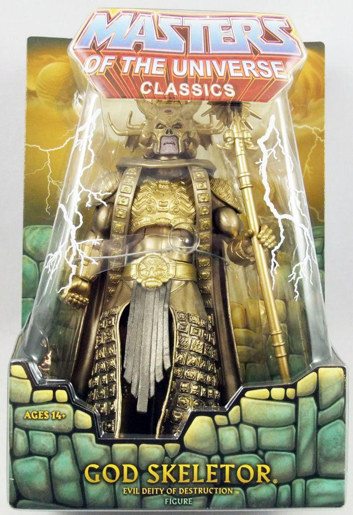 Maitres de l\'Univers MOTU Classics - God Skeletor (1987 Movie - William Stout Collection)