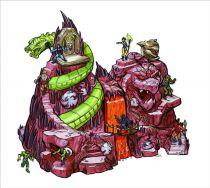 Maitres de l\'Univers MOTU Classics - Snake Mountain