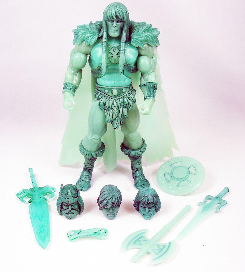 Maitres de l\'Univers MOTU Classics - Spirit of King He-Man - Barbarossa Custom Creations