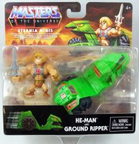 Maitres de l\'Univers MOTU Minis - He-Man & Ground Ripper