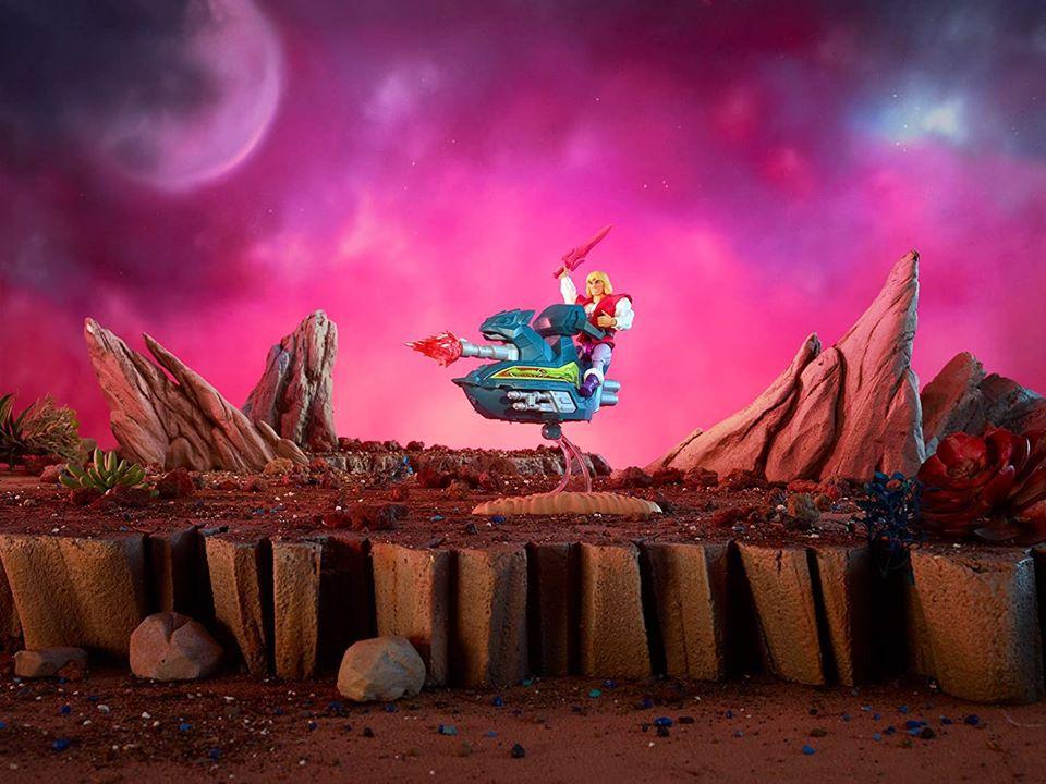 Maitres de l\'Univers Origins - Prince Adam & Sky Sled