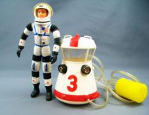 Major Matt Mason - Mattel - Major Matt Mason avec Moon Suit (ref.6303) occasion