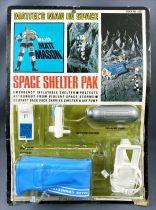 Major Matt Mason - Mattel - Space Shelter Pak (ref.6321) Loose on Card