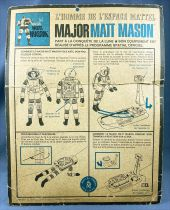 Major Matt Mason - Mattel (Jouets Rationnels) - Major Matt Mason avec Traineau à Réaction et Propulseur Dorsal (ref.6300)