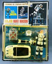 Major Matt Mason - Mattel (Jouets Rationnels) - Major Matt Mason Flight Pak (ref.6300) Loose on Card