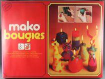 Mako Bougies - Jeu de Création - Mako 1976 Réf 4231 Neuf Boite Cellophanée