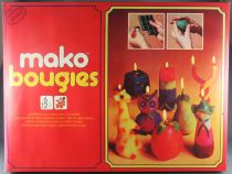 Mako Bougies (Candles) - Art & Craft Activity Game - Mako 1976 Ref 4231 MISB