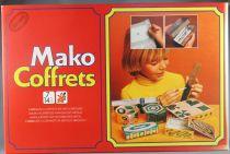 Mako Coffrets - Art & Craft Activity Game - Mako 1977 Ref 4335 MIB
