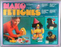 Mako Fétiches - Jeu de Création Textiles - Mako 1974 Réf 4315 Neuf Boite