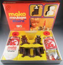 "Mako Molding \""Pewter\"" - Art & Craft Activity Game - Mako 1977 Ref 1754 MISB"