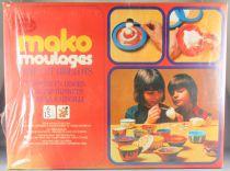 "Mako Moulages \""Boite & Bibelots\""- Jeu de Moulage - Mako 1976 Réf 1751 Neuf Boite Cellophanée"