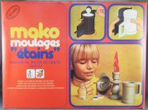 """Mako Moulages \""""Etains\""""- Jeu de Moulage - Mako 1977 Réf 1754 Neuf Boite Cellophanée"""