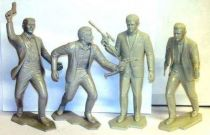 Man from U.N.C.L.E. - Set of 4 Marx figures