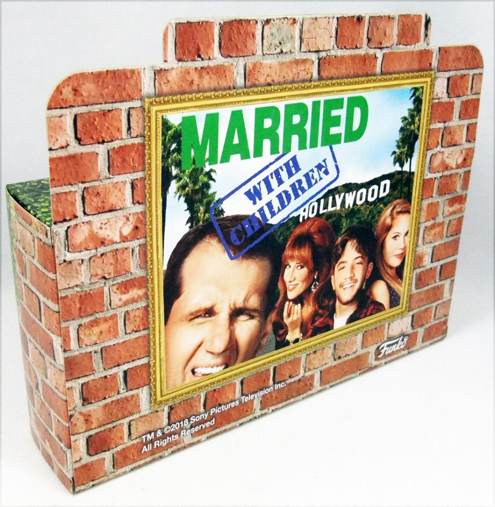 Mariés deux enfants - Funko - Figurines 10cm - Al, Peggy, Kelly et Bud Bundy (Fall Convention Exclusive)