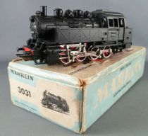 Märklin 3031 Ho 3 Tracks Db Steam Locomotive 0-8-0 N° 81004 Metal Telex Boxedt