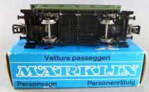 Märklin 4007 Ho Dr Kpbr Voiture 2 essieux 32 Bi Livrée Vert en boite