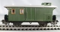 Märklin 4038 Ho Db 2 axles Lugages Van 116 910 stg Green Livery