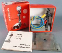 Märklin 7036 Ho Sncf Signal Disque Avancé Commande Electrique Neuf Boite 1
